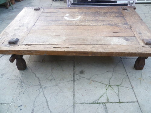 Fantastic Popular Large Low Rustic Coffee Tables With Regard To Large Antique Rustic Low Coffee Table Antiques Atlas (View 5 of 50)