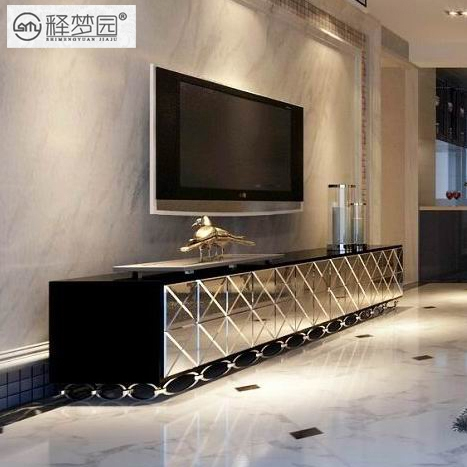 Fantastic Popular Mirrored TV Cabinets Furniture Pertaining To Mirror Mirror Tv Cabinet Tv Cabinet Minimalist Furniture Glass (Image 26 of 50)