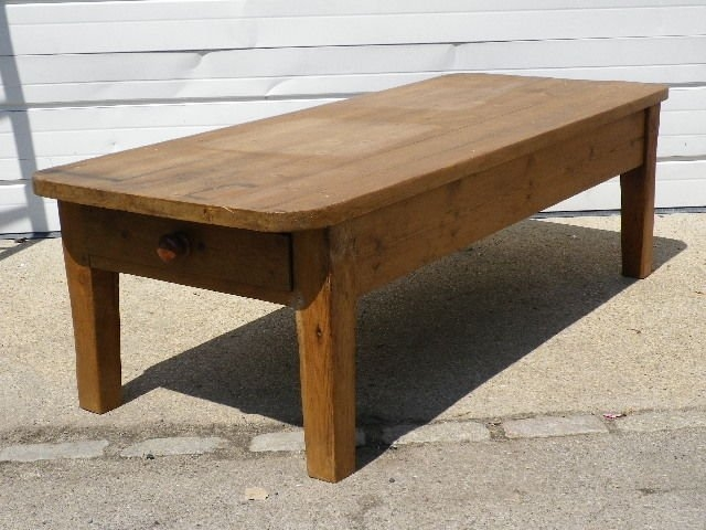 Fantastic Popular Old Pine Coffee Tables For Old Pine Coffee Table For Sale At 1stdibs (Image 18 of 50)