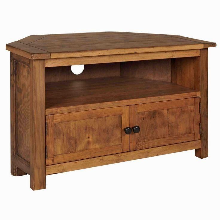 Fantastic Popular Real Wood Corner TV Stands For Solid Wood Corner Tv Stand (View 20 of 50)
