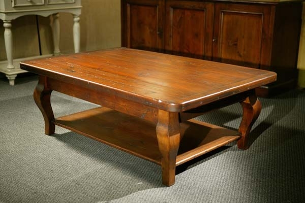 Fantastic Popular Reclaimed Wood Coffee Tables Regarding Old Wood Coffee Tables Lake And Mountain Home (View 21 of 50)