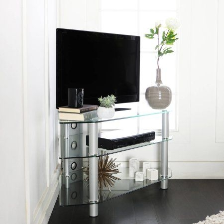 Fantastic Popular Silver Corner TV Stands In 26 Best Media Cabinet Images On Pinterest Corner Tv Stands (View 16 of 50)
