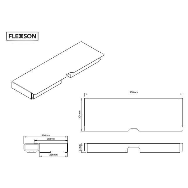 Fantastic Popular Sonos TV Stands With Buy Flexson Flxpbst1021 Floorstand Marks Electrical (View 47 of 50)