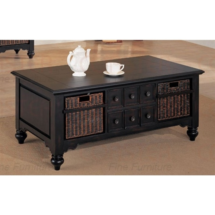 Fantastic Popular White Coffee Tables With Baskets Regarding Coffee Table With Storage Coffee Table Trunk Refinished Tool (Image 18 of 40)