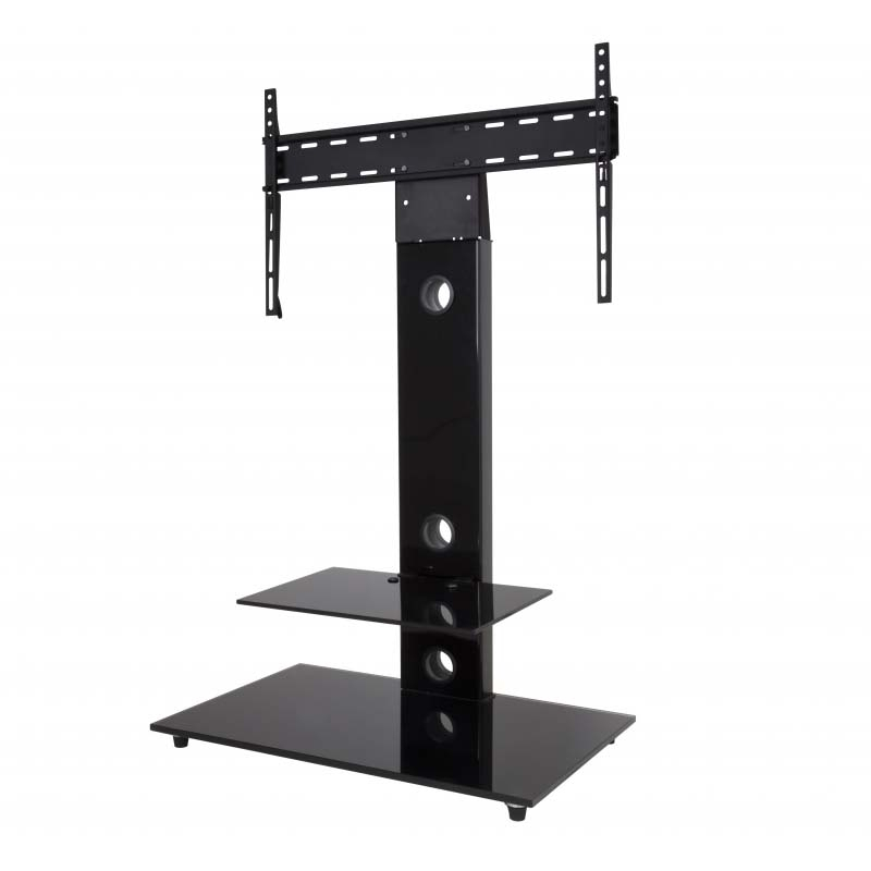 Fantastic Preferred 32 Inch TV Stands For Avf Lesina 32 To 55 Inch Tv Stand With Attached Mount Black (Image 19 of 50)
