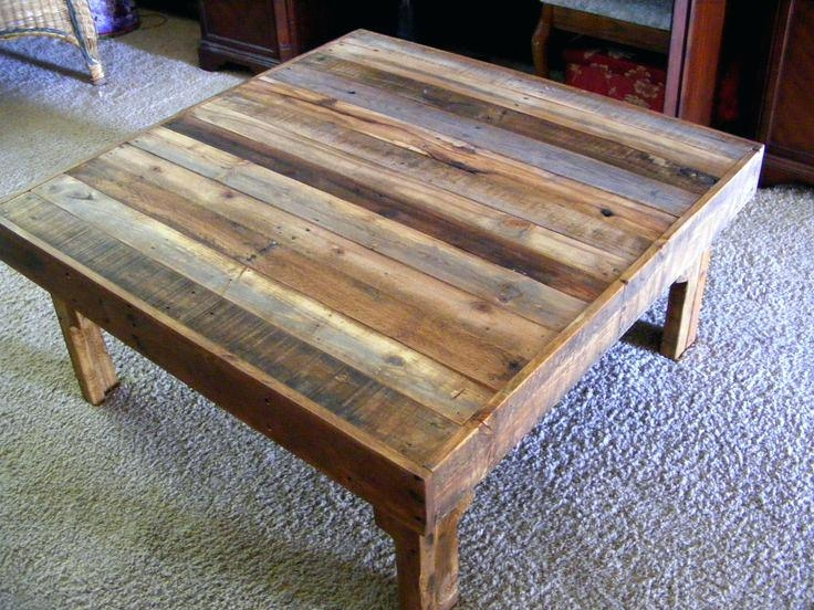 Fantastic Preferred Dark Wood Square Coffee Tables With Regard To Urban Coffee Table Drawers On Sides Rustic Wood Coffee Tables (Image 19 of 50)