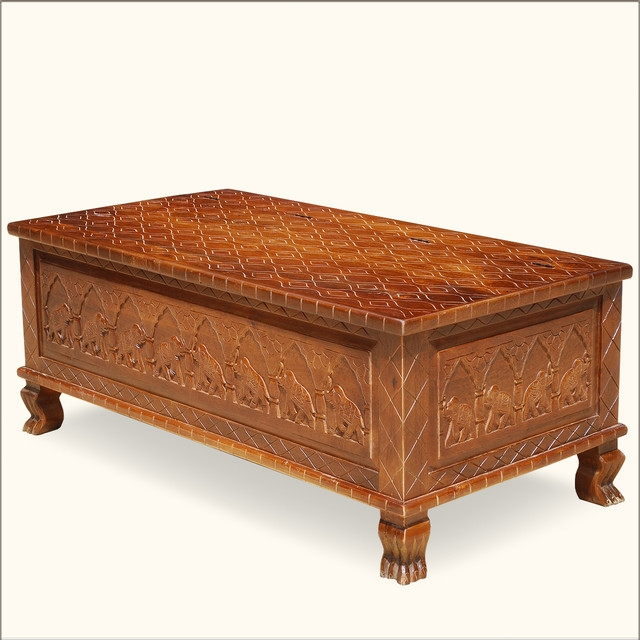 Fantastic Preferred Elephant Coffee Tables Inside Features Furniture Coffee Tables Painted Ornately Carved Coffee (Image 23 of 50)