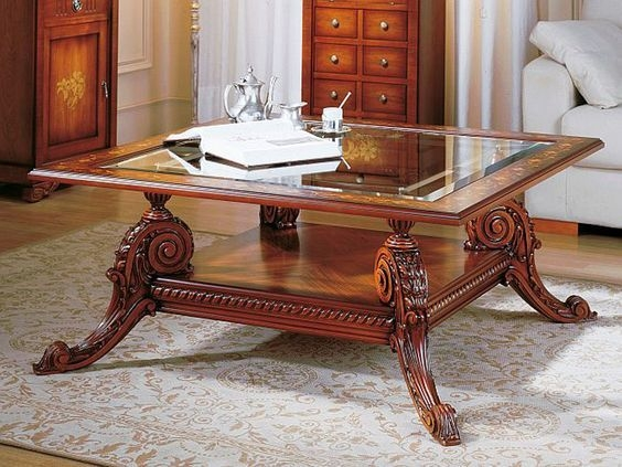 Fantastic Preferred Large Square Glass Coffee Tables Throughout Adorable Square Glass Top Coffee Table Best Images About (Image 19 of 50)