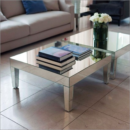 Fantastic Preferred Mirrored Coffee Tables With Round Mirrored Coffee Table Tray Vanities Decoration (View 20 of 50)