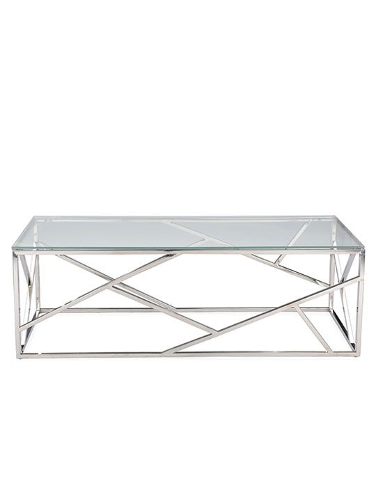 Fantastic Preferred Rectangle Glass Chrome Coffee Tables With 177 Best Glass Coffee Tables Images On Pinterest Glass Coffee (Image 20 of 50)