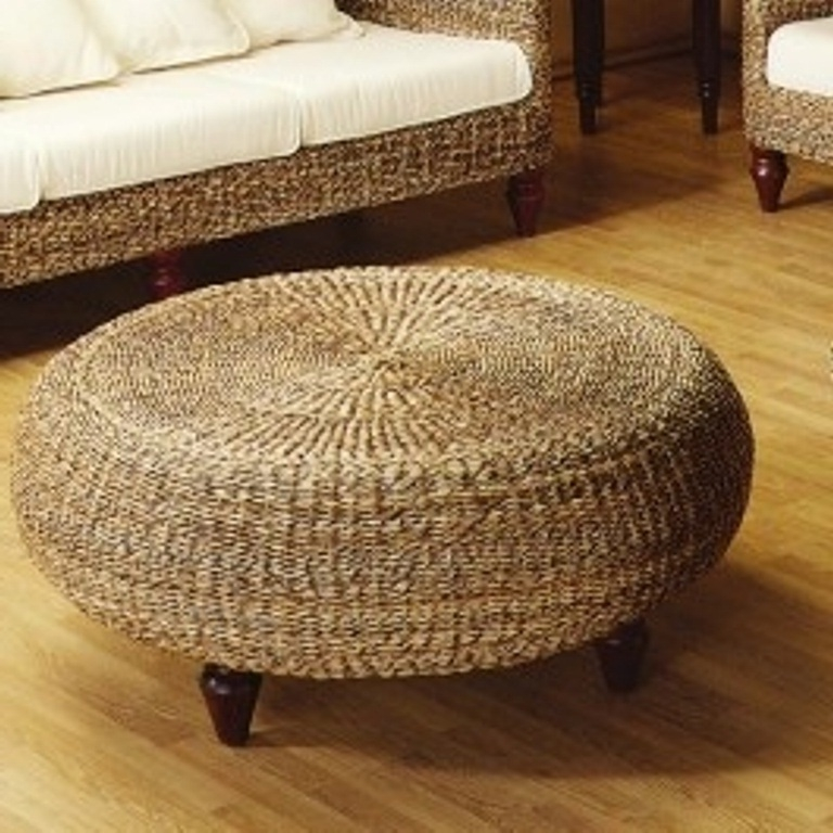 Fantastic Preferred Round Woven Coffee Tables Pertaining To Round Rattan Coffee Table Jericho Mafjar Project (Image 28 of 50)