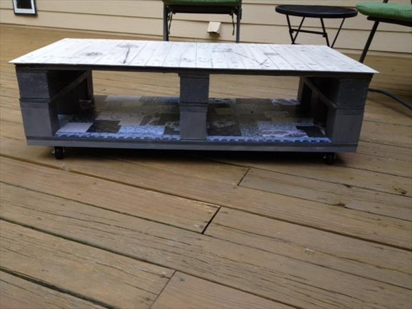 Fantastic Preferred Rustic Storage DIY Coffee Tables For Diy Rustic Coffee Table From Pallets 99 Pallets (Image 17 of 50)