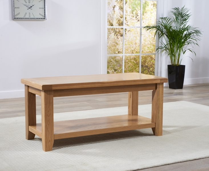 Fantastic Preferred Solid Oak Coffee Table With Storage For Buy Mark Harris York Solid Oak Coffee Table With Storage Shelf (Image 16 of 50)