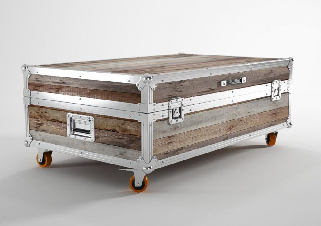 Fantastic Preferred Stainless Steel Trunk Coffee Tables Within Stainless Steel Coffee Table Tables Trunk Thippo (View 11 of 50)