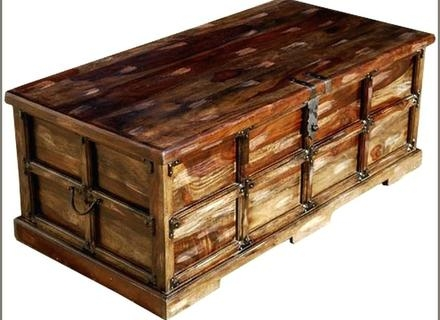 Fantastic Premium Blanket Box Coffee Tables Pertaining To Furniture Treasure Chest Coffee Table Storage Coffee Table (Image 18 of 50)
