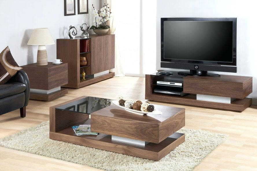 Fantastic Premium Coffee Table And Tv Unit Sets With Coffee Table Modern Design With Stretch Function Coffee Table (Image 19 of 50)