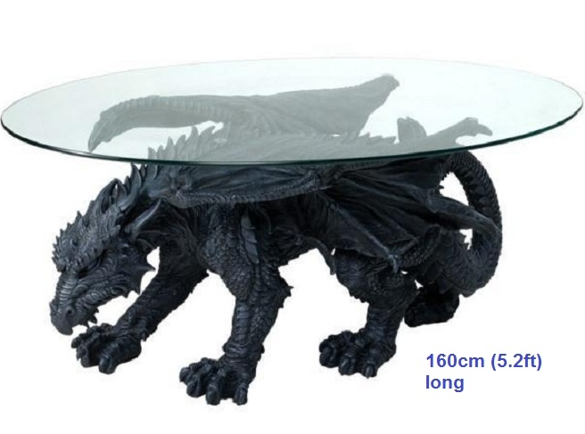 Fantastic Premium Dragon Coffee Tables Within Scrap Metal Art Furniture Alien Table Spiderman Table Predator (Image 23 of 50)