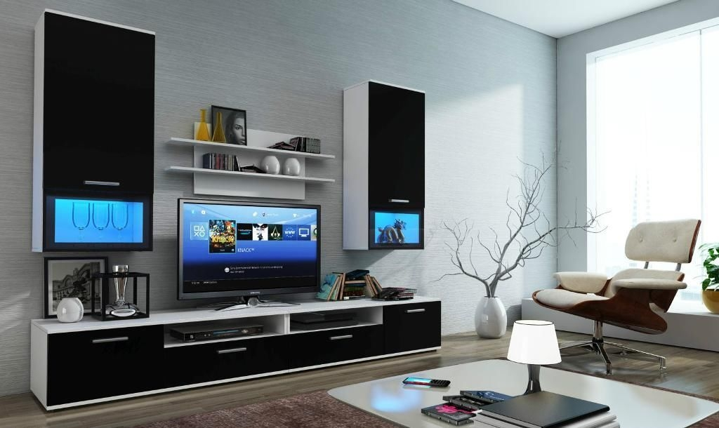 Fantastic Premium Led TV Cabinets Inside Living Room Best Wall Unit Furniture Living Room Wall Units (Image 20 of 50)