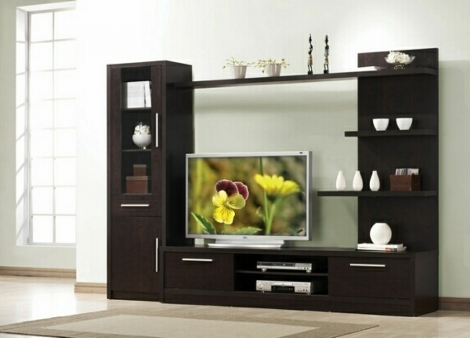 Fantastic Premium Off Wall TV Stands In Living Room Wall Tv Stands With Shelves In Design Mounts For Flat (Image 13 of 50)
