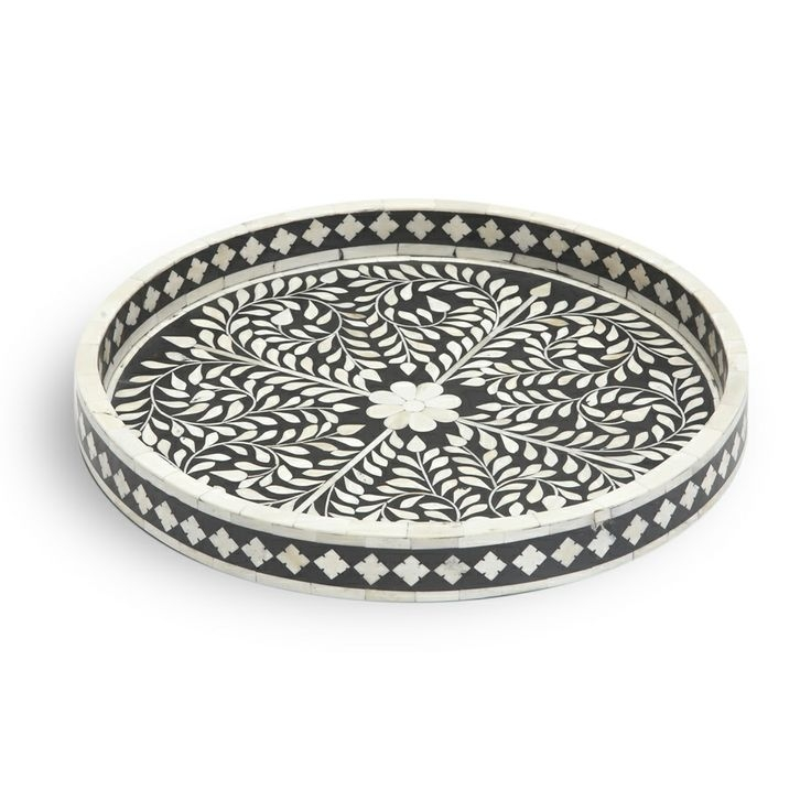 Fantastic Premium Round Coffee Table Trays In 15 Best Bone Inlay Furniture Images On Pinterest Coffee Tables (Image 21 of 50)