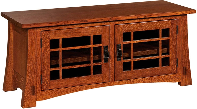 Fantastic Premium Small TV Cabinets Inside Amish Crafted Modesto Low Tv Cabinet (View 39 of 50)