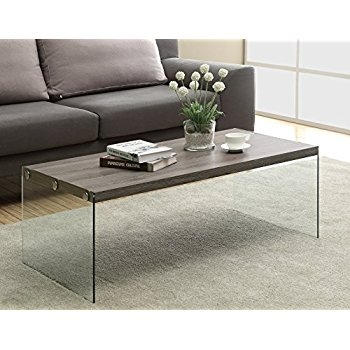 Fantastic Premium Soho Coffee Tables In Amazon Convenience Concepts Soho Coffee Table Weathered (Image 22 of 40)