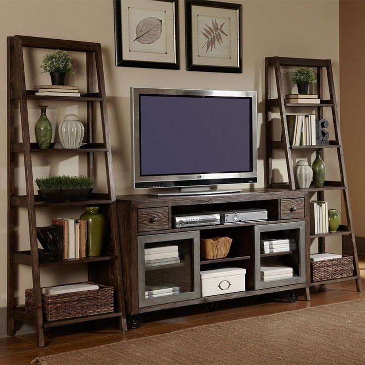 Fantastic Premium TV Stands And Bookshelf Within Best 25 Tv Stand With Storage Ideas On Pinterest Media Storage (Image 18 of 50)
