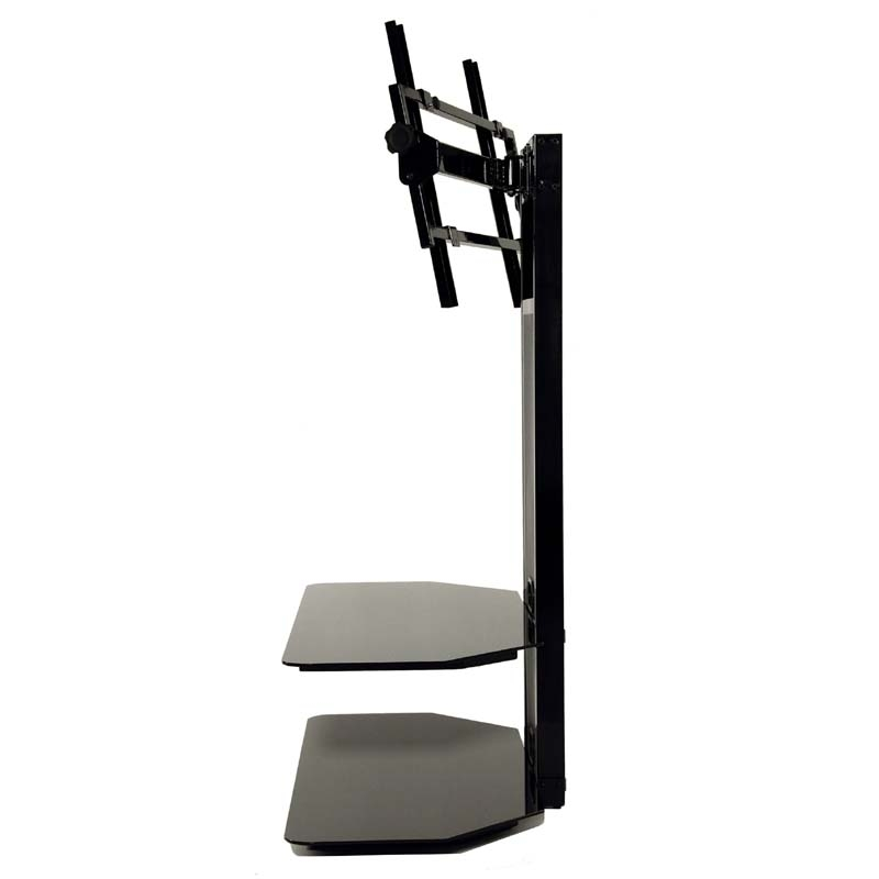 Fantastic Series Of 65 Inch TV Stands With Integrated Mount Regarding Currently Editing Transdeco Black Glass Tv Stand With Integrated (Image 20 of 50)