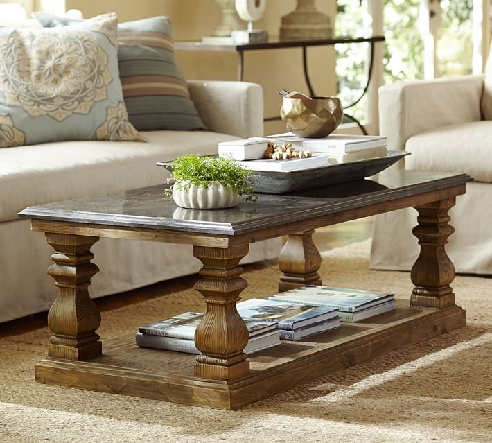 Fantastic Series Of Antique Glass Pottery Barn Coffee Tables Within Coffee Tables Unique Pottery Barn Coffee Tables Design Pottery (Image 21 of 50)