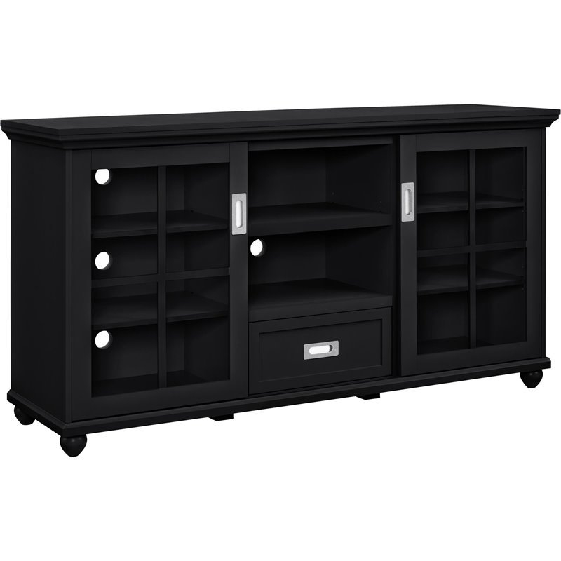 Fantastic Series Of Black TV Stands In 55 Tv Stand In Black 1782096pcom (Image 13 of 50)