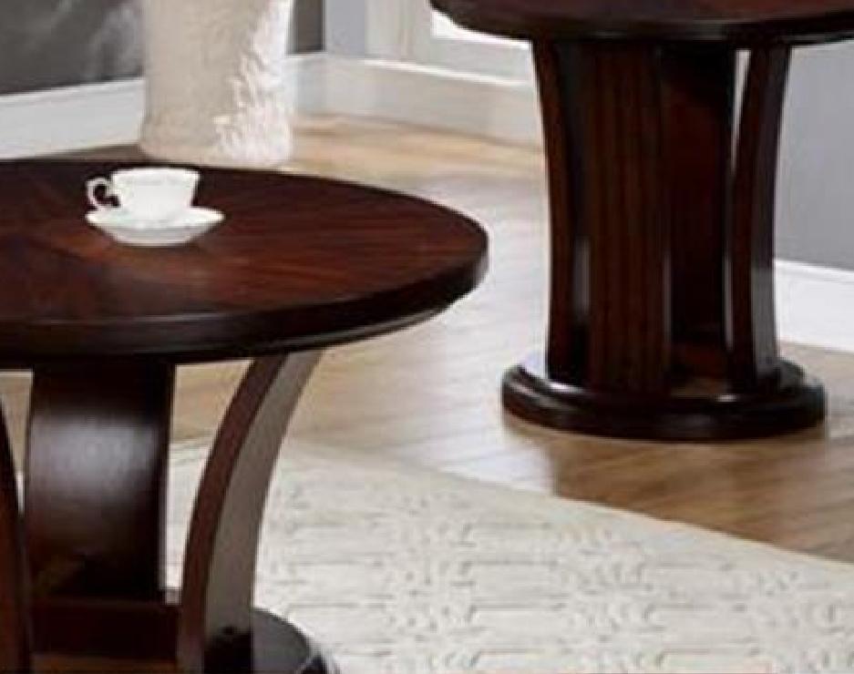 Fantastic Series Of Espresso Coffee Tables Throughout 4234 01 Daria Espresso Coffee Table Wcaster (View 42 of 50)
