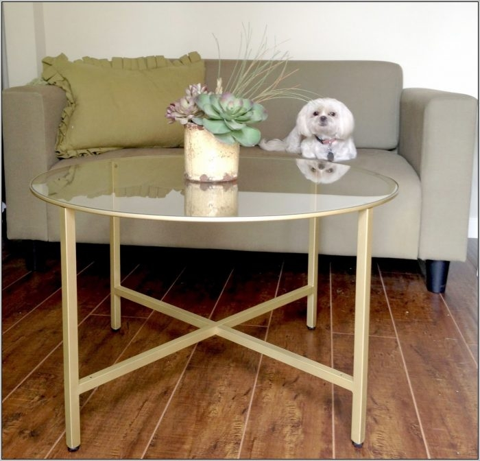 Fantastic Series Of Gold Bamboo Coffee Tables With Gold Bamboo Glass Coffee Table Coffee Table Home Decorating (View 37 of 50)
