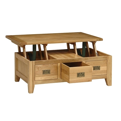 Lift Table Coffee Table: Top 40 Lift Top Oak Coffee Tables