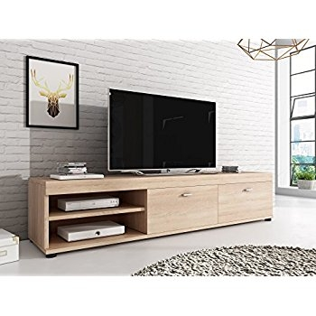 Fantastic Series Of Light Oak TV Cabinets For Solid Oak Tv Cabinet Stand With Drawers Wide Unit Delamere Hfl (Image 18 of 50)