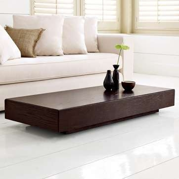 Fantastic Series Of Low Square Wooden Coffee Tables  In Low Living Room Table 10 Modern Coffee Tablesbest 10 Low Coffee (Image 20 of 50)