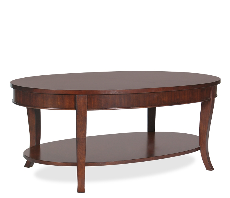 Fantastic Series Of Oval Wooden Coffee Tables Intended For Coffee Table Outstanding Small Oval Coffee Table For Small Spaces (Image 22 of 50)