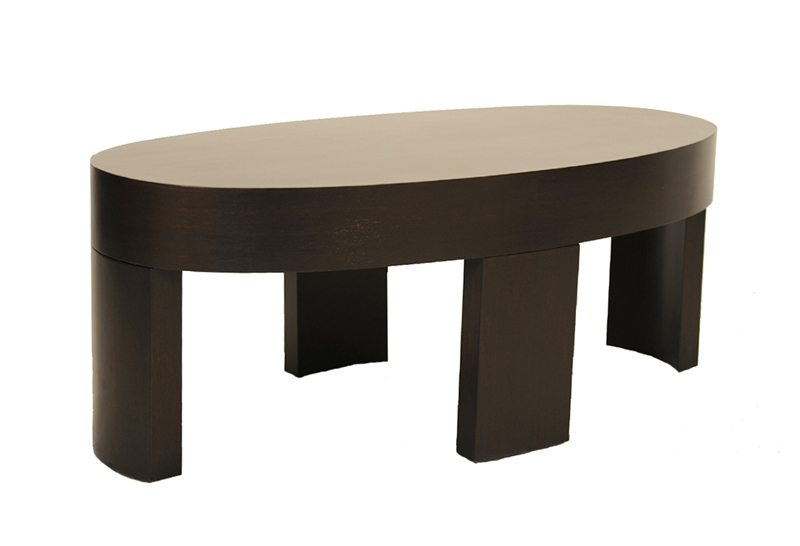 Fantastic Series Of Oval Wooden Coffee Tables Throughout Fong Brothers Co Coffee Tables (Image 23 of 50)