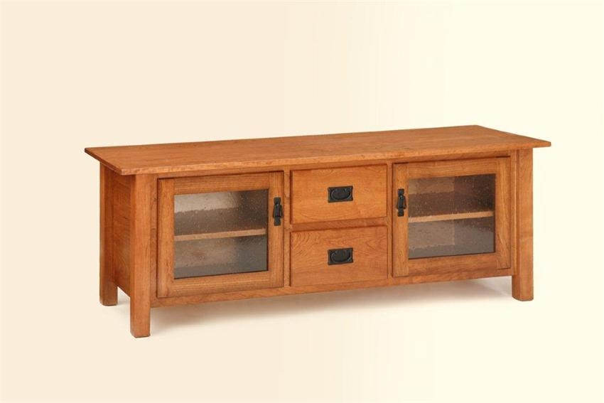 Fantastic Series Of Plasma TV Stands Pertaining To American Mission Plasma Tv Stand From Dutchcrafters Amish Furniture (Image 18 of 50)