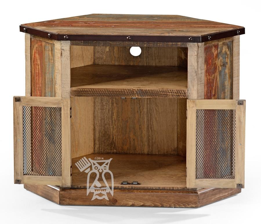Fantastic Series Of Real Wood Corner TV Stands Within Hoot Judkins Furnituresan Franciscosan Josebay Areaartisan (View 12 of 50)