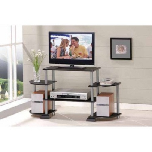Fantastic Series Of TV Stands Rounded Corners Within Tv Stand Entertainment Center Media Console Rounded Corner Stylish (Image 19 of 50)