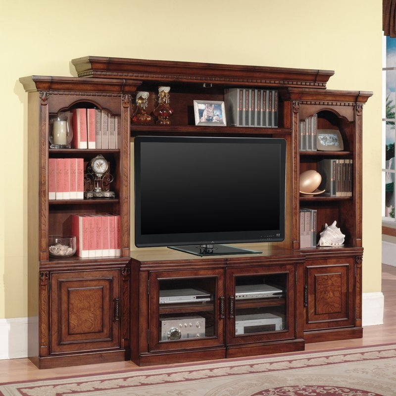 Fantastic Series Of TV Stands With Matching Bookcases Pertaining To Entertainment Centers Youll Love (View 43 of 50)
