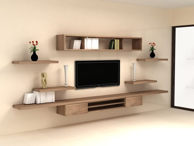 50 Best Small Living Room Design Ideas For 2017: 50 Best Ideas Wall Display Units & TV Cabinets
