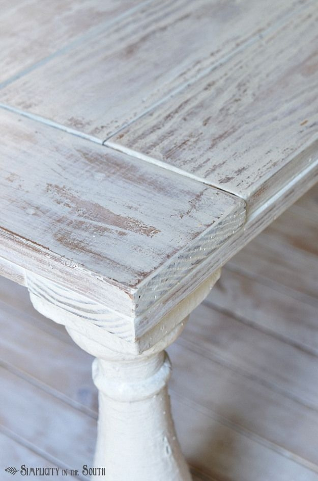 Fantastic Top Grey Wash Wood Coffee Tables Pertaining To Best 25 White Wash Table Ideas On Pinterest How To Whitewash (Image 25 of 50)