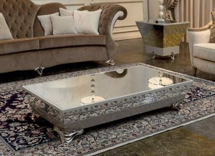 Fantastic Top Hammered Silver Coffee Tables Inside Silver Round Coffee Table Jerichomafjarproject (Image 23 of 50)