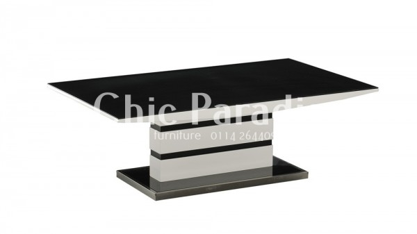 Fantastic Top High Gloss Coffee Tables Inside Buy Modern White Gloss Coffee Table With Black Or Grey 55 Off (Image 19 of 40)