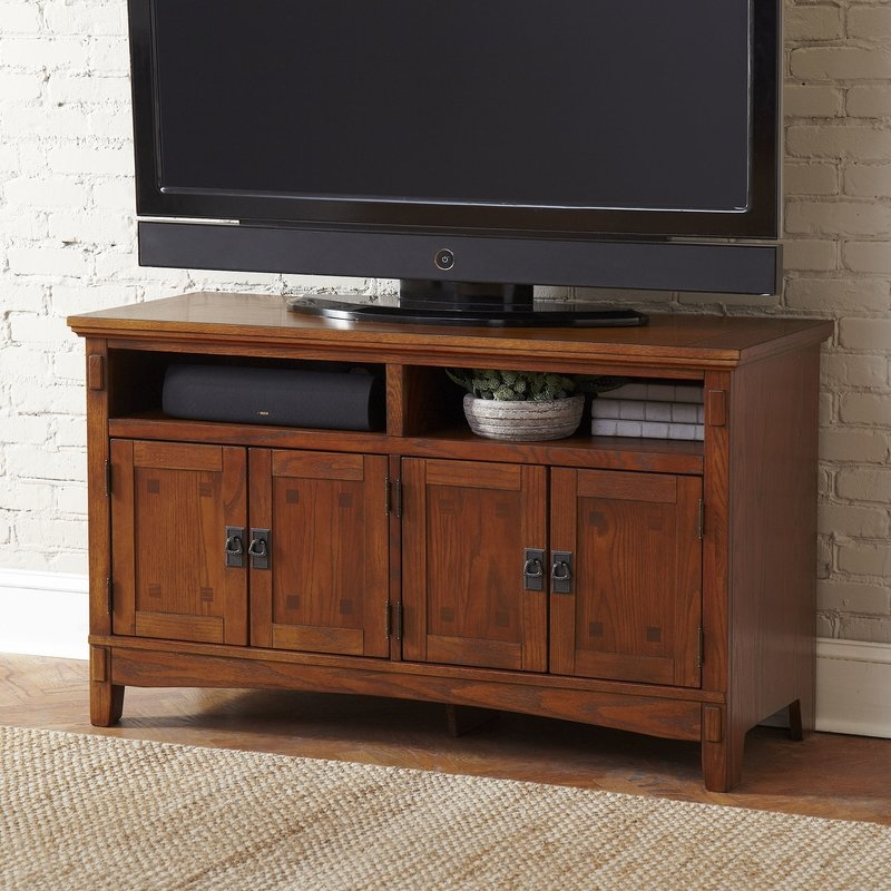 Fantastic Top Lane TV Stands Throughout Hickham 50 Tv Stand Reviews Birch Lane (View 25 of 50)