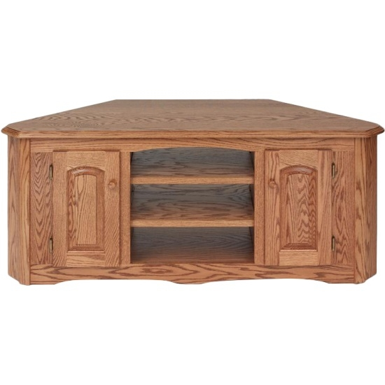 Fantastic Top Oak TV Stands Inside Solid Wood Oak Country Corner Tv Stand Wcabinet 55 The Oak (Image 21 of 50)