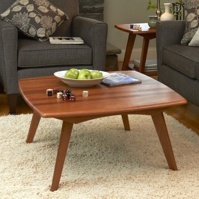 Fantastic Top Retro White Coffee Tables Within Solid Wood Tables Accent Coffee Tables Manchesterwood (Image 18 of 50)
