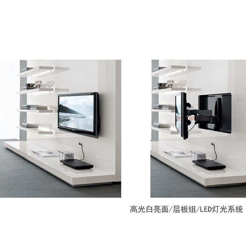 Fantastic Top Scandinavian Design TV Cabinets Intended For Tv Cabinet Back Wall Composite Design System Wood Veneer Laminates (Image 16 of 50)