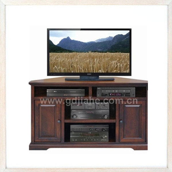 Fantastic Top Triangle TV Stands Regarding Leisure Style Living Room Furniture Glass Lcd Triangle Tv Stand (View 33 of 50)